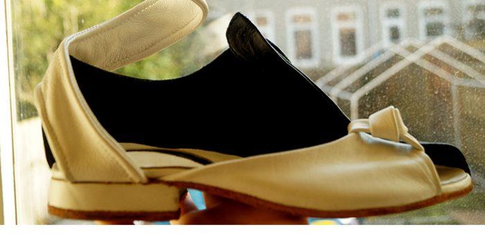 Kunstzinnige schoenen